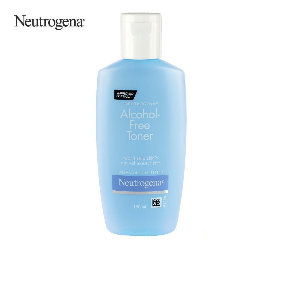 Nước hoa hồng không chứa cồn Neutrogena Alcohol Free Toner 150ml - 101035663