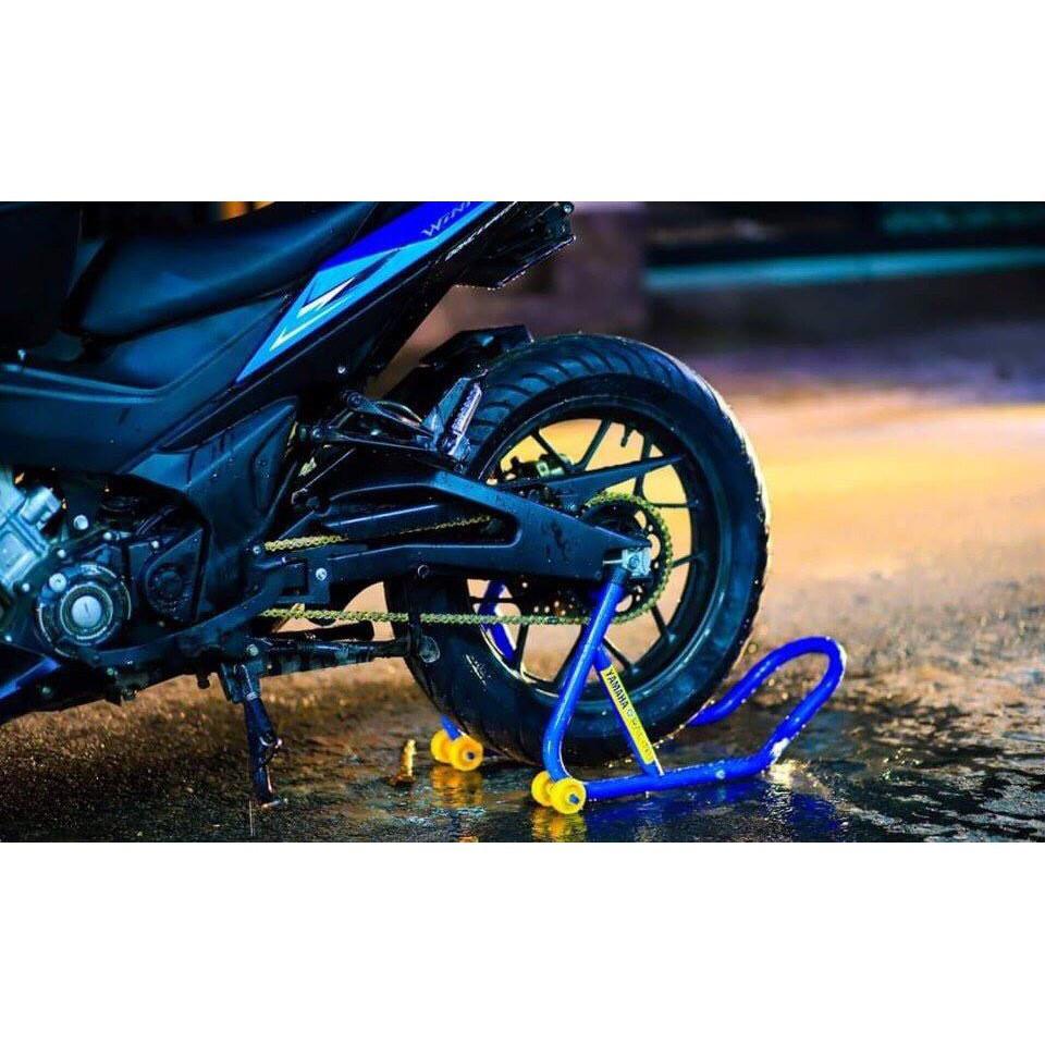 SIÊU RẺ - Bẫy nâng xe máy - chân chống nâng xe máy , pen nâng xe . sắt dầy cứng cáp - nâng được nhiều dòng xe