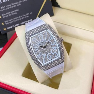 Đồng hồ nữ Franck Muller, đồng hồ đính đá dây cao su bảo hành 12m DHN002 ngoctrinhs thumbnail