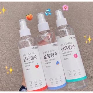 Xịt thơm quần áo Hàn Quốc thơm sang vô cùng khách ơi thumbnail