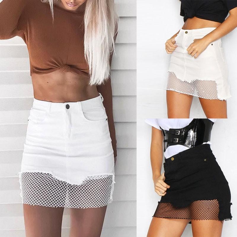 Quần short jean nữ lưng cao thời trang quyến rũ