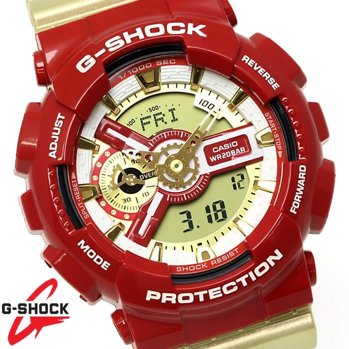 Đồng hồ thể thao nam nữ G-shock GA-110CS-4A Full phụ kiện