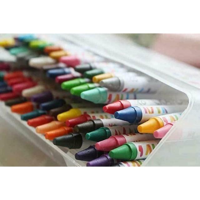 Sét 64 bút sáp màu - Hàng xu