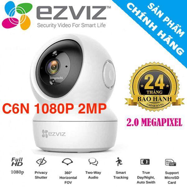 EZVIZ-C6N 1080P- Camera Wifi dòng P/T - Hàng Chính Hãng
