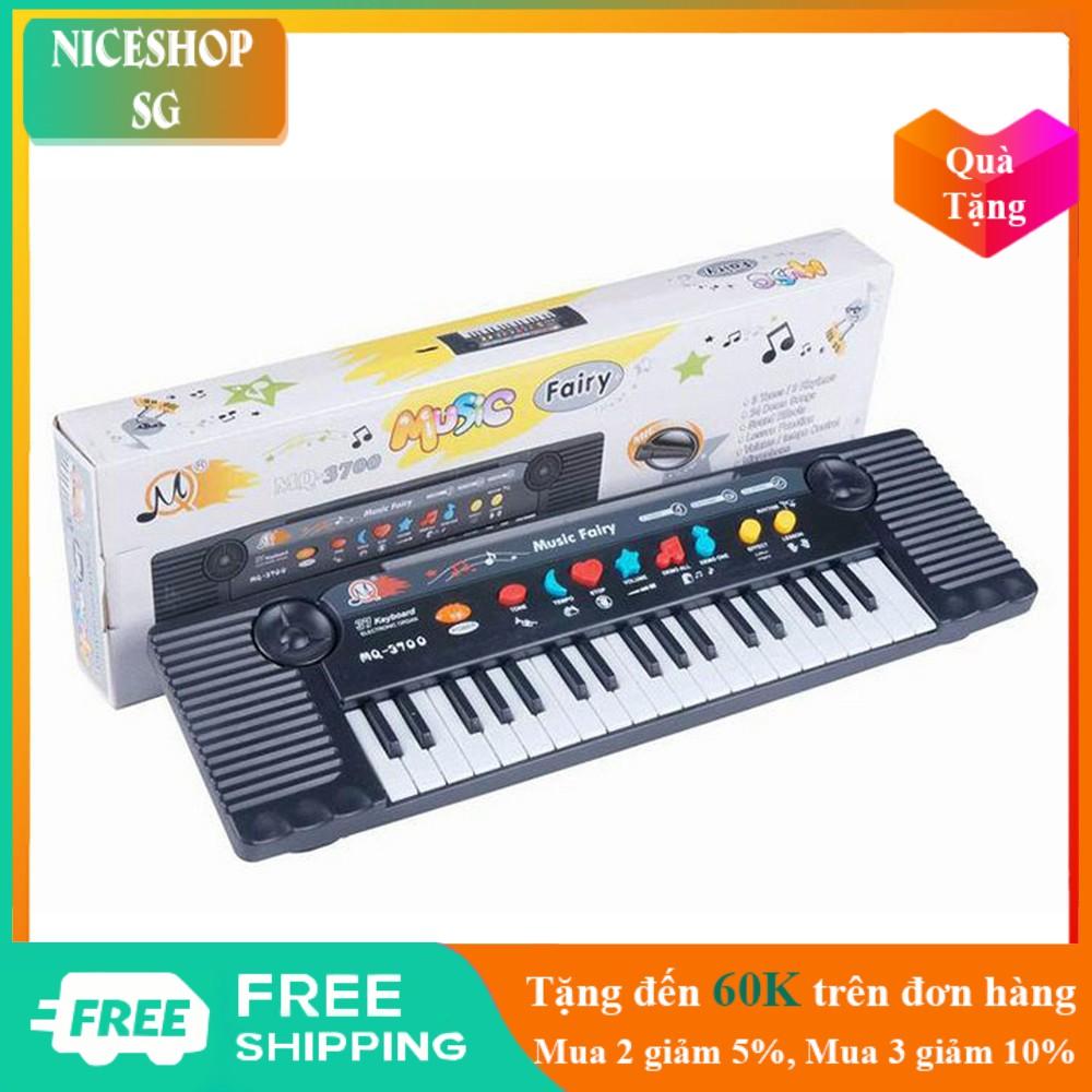Đàn piano 🤗 Miễn Ship 🤗 Đàn organ có micmQ 3700 cho bé luyện tập phát triển khả năng âm nhạc – TE0046