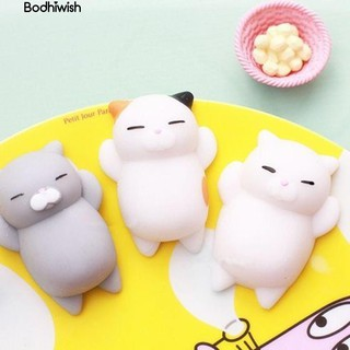 ☎1Pc Super Soft Slow Rising Squishy Squeeze Cat Smile Face bauble Kid Gift