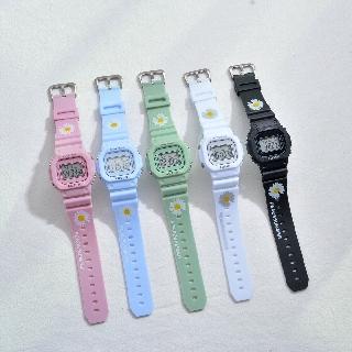 Đồng hồ điện tử nam nữ Aosun dây hoa cúc mẫu mới cực hot V969 thumbnail