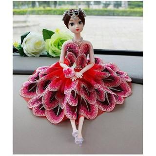 Búp bê công chúa váy khổng tước siêu đẹp 12 khớp [HN]