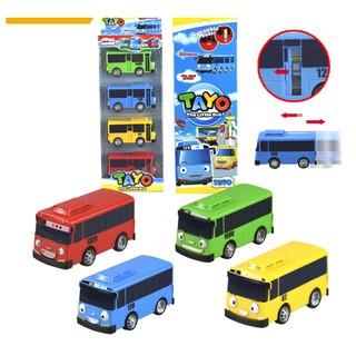 Bộ Xe bus Tayo một bộ gồm 4 chiếc