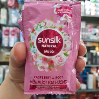 1 dây dầu gội Sunsilk mềm mượt toả hương 6g/1 gói