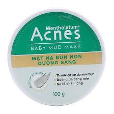 9% GIẢM Acnes Baby Mud Mask - Mặt nạ bùn non dưỡng sáng