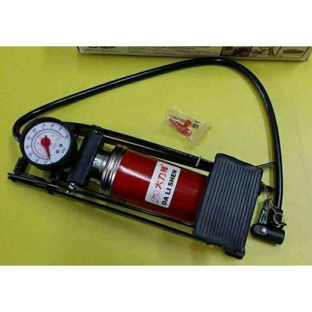 Bơm hơi đạp chân mini ô tô có đồng hồ đo áp suất lốp. - 3089282 , 1136280677 , 322_1136280677 , 79000 , Bom-hoi-dap-chan-mini-o-to-co-dong-ho-do-ap-suat-lop.-322_1136280677 , shopee.vn , Bơm hơi đạp chân mini ô tô có đồng hồ đo áp suất lốp.