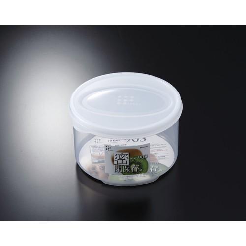 Hộp nhựa đựng thực phẩm 830ml loại tròn có nắp Hàng Nhật nội địa