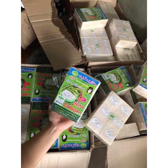 [Mặt & Body] Xà Phòng Sữa Gạo Thái Lan