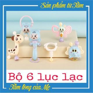 Bộ 6 Món Lục Lạc - Phát Triển Âm Thanh Cho Bé thumbnail