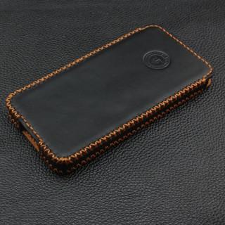 Bao da iPhone 6 plus hộp đen trơn