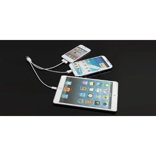 Cáp Sạc Micro Usb Lightning Cho Điện Thoại Android Iphone X 4 4s Se 6plus 5c 5s Ipad Mini 1