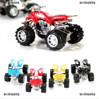 {go shopping}1 Pcs Pull Back Car Beach Four-wheel Motorcycle Model Baby Kids Children Toys