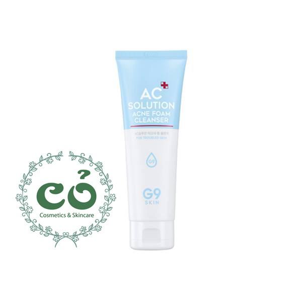 Sữa Rửa Mặt G9 Skin AC Solution Acne Foam Cleanser