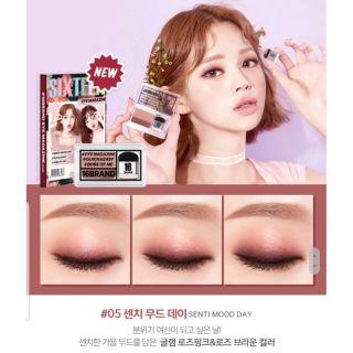 PHẤN MẮT 16BRAND SIXTEEN EYE MAGAZINE Hàn Quốc thumbnail