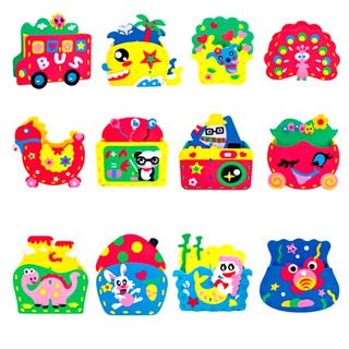 Eva Pen Holder Foam Craft Kits Kids DIY Container Kids Educational Toys