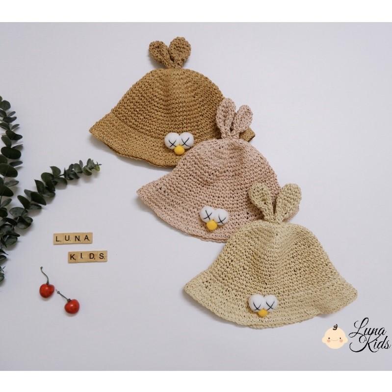 [Ảnh thật] Mũ / nón cói cho bé yêu, bé gái, trẻ em (1,5-4y)