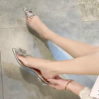 giày nữ Freeship giày quai trong gót 3p hàng hộp thumbnail