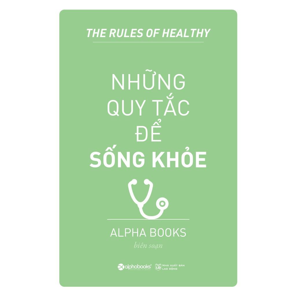 Sách - Những quy tắc để sống khỏe