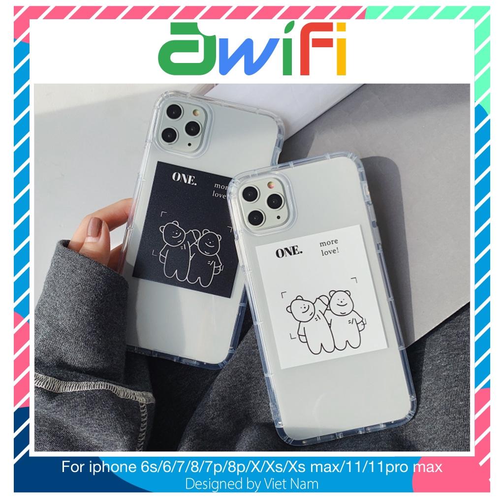 Ốp iphone - Ốp lưng more love trong suốt 5/5s/6/6s/6plus/6splus/7/8/7plus/8plus/x/xs/xs max/11/11pro max-Awifi Case P4-5