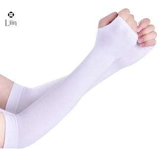 Găng tay Linbi xỏ ngón ống chống nắng cao cấp chất thun mềm thoáng mát và thấm hút mồ hôi SP010