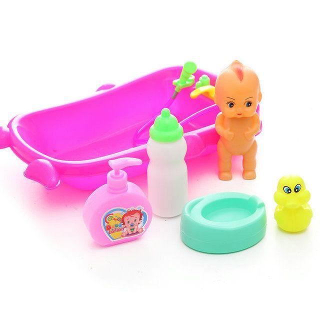 Bộ đồ chơi bồn tắm em bé cỡ lớn (669-60)