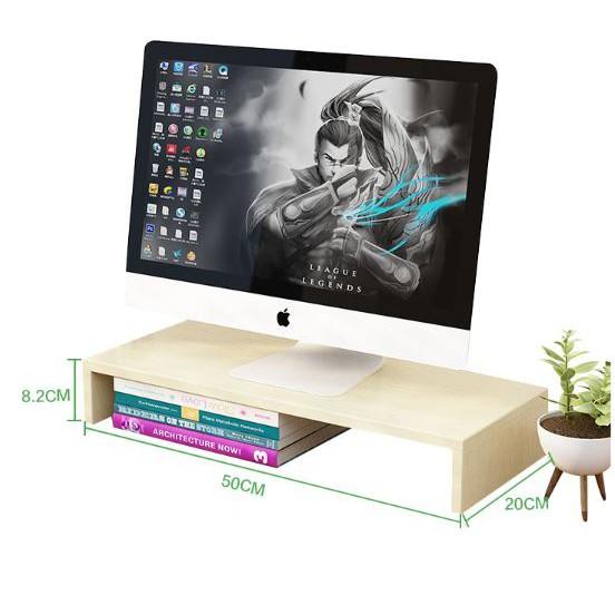 Kệ gỗ để màn hình máy tính