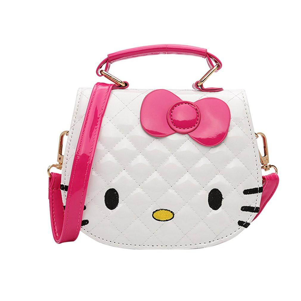 Túi đeo vai hình mèo Kitty đáng yêu cho bé