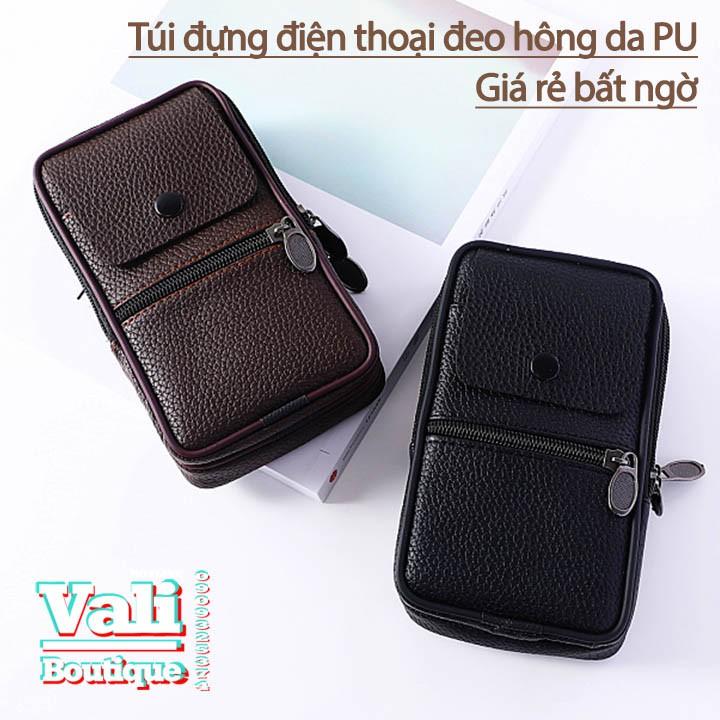 Túi đeo ngang hông đựng điện thoại da PU dành cho nam dạng dọc - nhiều màu - 14806151 , 1533393378 , 322_1533393378 , 110000 , Tui-deo-ngang-hong-dung-dien-thoai-da-PU-danh-cho-nam-dang-doc-nhieu-mau-322_1533393378 , shopee.vn , Túi đeo ngang hông đựng điện thoại da PU dành cho nam dạng dọc - nhiều màu