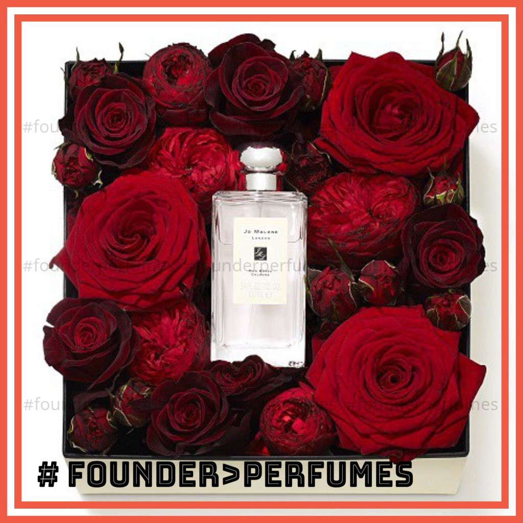 [S.A.L.E]  Nước Hoa Jo Malone London Red Roses Cologne Test 5ml/10ml/20ml #.founderperfume