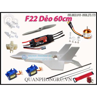 Bộ F22 dẻo size 60cm có đồ điện