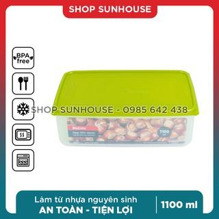 Hộp đựng thực phẩm SUNHOUSE BioZone cỡ nhỏ - dùng được lò vi sóng thumbnail