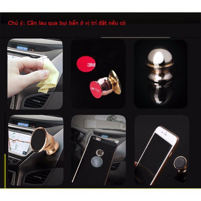 Đế nam châm giá đỡ điện thoại xe hơi, ô tô 360 độ màu gold - 3139797 , 138849014 , 322_138849014 , 80000 , De-nam-cham-gia-do-dien-thoai-xe-hoi-o-to-360-do-mau-gold-322_138849014 , shopee.vn , Đế nam châm giá đỡ điện thoại xe hơi, ô tô 360 độ màu gold