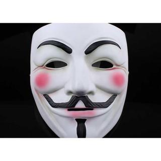Mặt nạ nhựa hóa trang hacker Anonymous