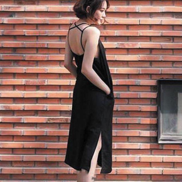 Đầm suông Marie Dress lưng trần sexy. - 3408028 , 974702262 , 322_974702262 , 400000 , Dam-suong-Marie-Dress-lung-tran-sexy.-322_974702262 , shopee.vn , Đầm suông Marie Dress lưng trần sexy.