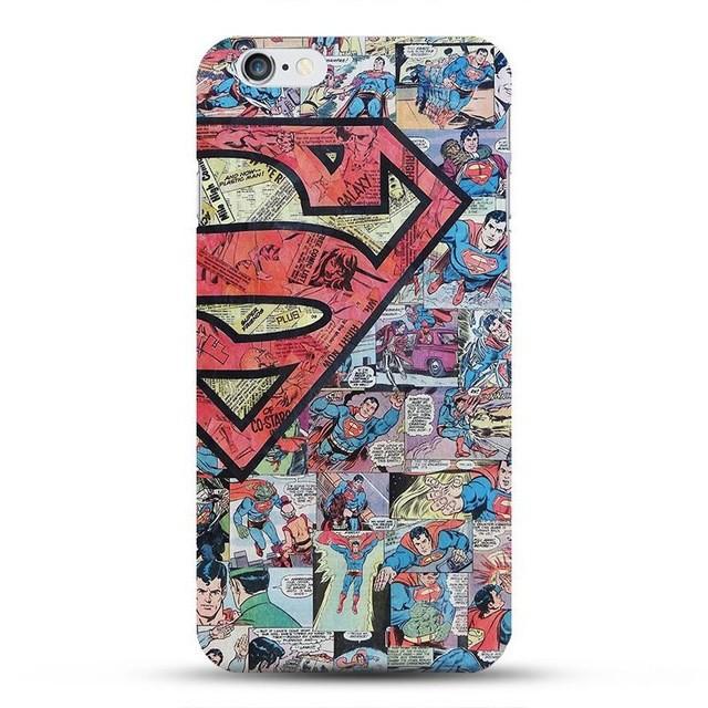 Ốp lưng Superman Comic cho điện thoại iPhone/Samsung siêu chất
