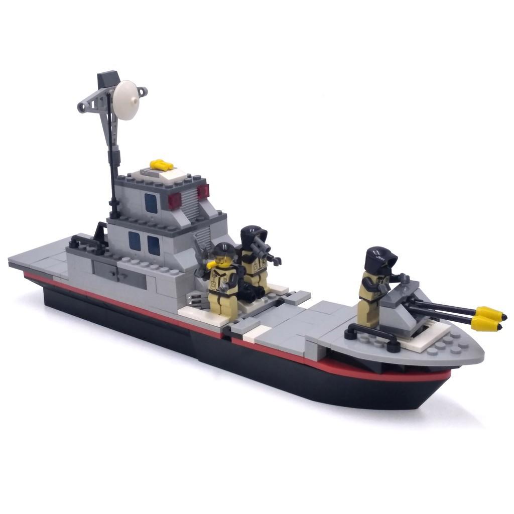 Mô hình lắp ghép quân sự chống khủng bố (274-29013) _khohangsi9385