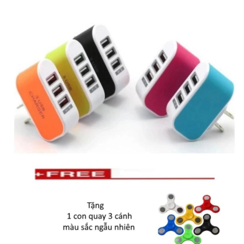 Cốc sạc điện thoại đa năng 3 cổng USB + Tặng 1 con quay 3 cánh màu sắc ngẫu nhiên. - 2594091 , 953909439 , 322_953909439 , 35000 , Coc-sac-dien-thoai-da-nang-3-cong-USB-Tang-1-con-quay-3-canh-mau-sac-ngau-nhien.-322_953909439 , shopee.vn , Cốc sạc điện thoại đa năng 3 cổng USB + Tặng 1 con quay 3 cánh màu sắc ngẫu nhiên.