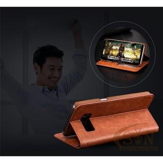 Ốp lưng Note 8 kiêm ví cầm tay 2 trong 1 cho Samsung Galaxy Note 8