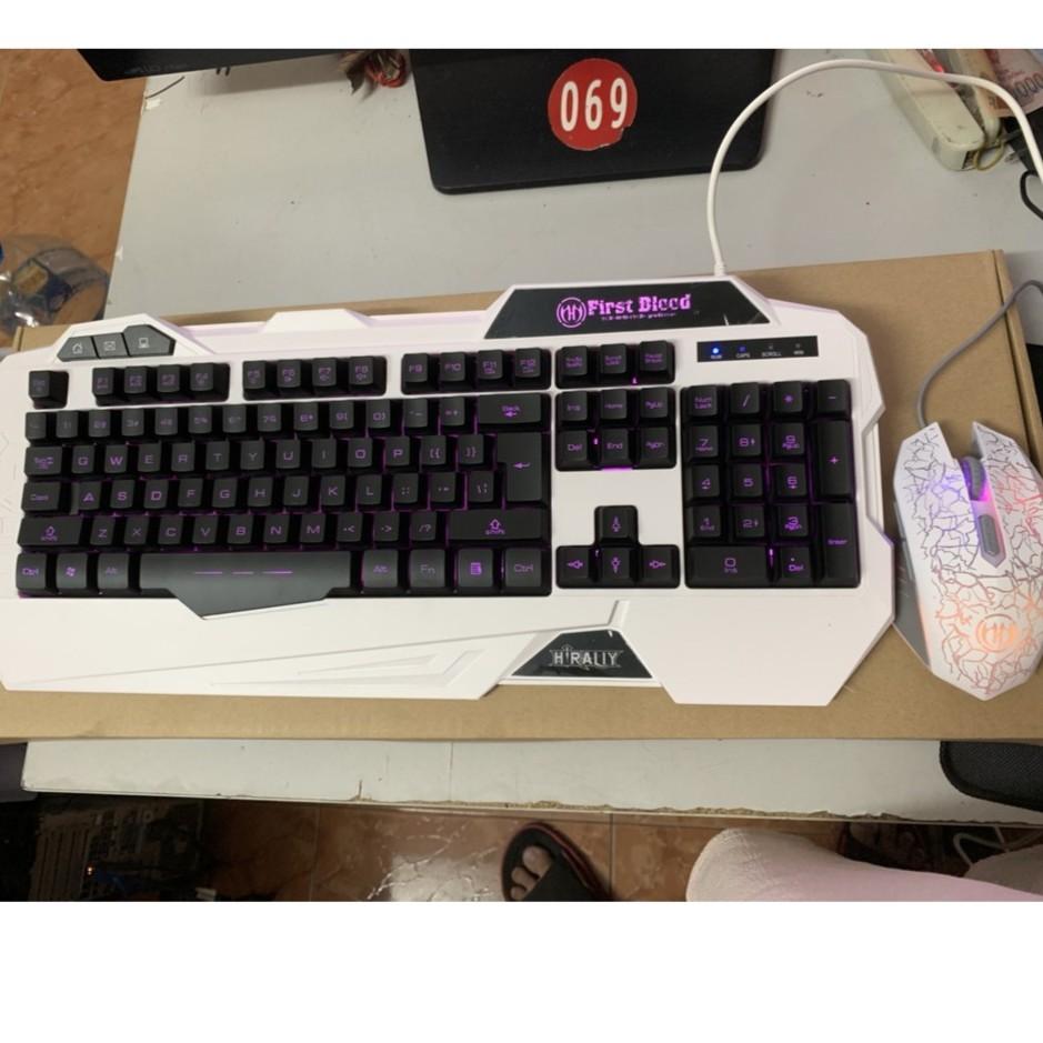 [SIÊU RẺ] Bộ phím chuột LED HIRALY - Tekshop