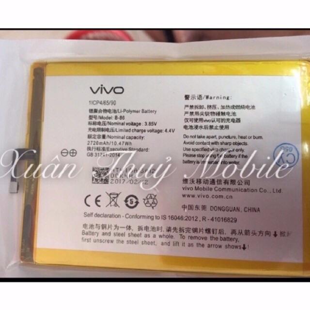 Pin Vivo B-86 1lCP4/65/90 1lCP46590 - 3371233 , 547462438 , 322_547462438 , 165000 , Pin-Vivo-B-86-1lCP4-65-90-1lCP46590-322_547462438 , shopee.vn , Pin Vivo B-86 1lCP4/65/90 1lCP46590