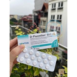 D-fluoretten 500 I.E