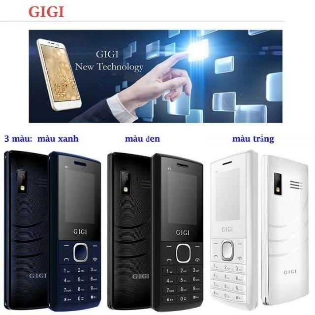 Điện thoại 2 Sim Chính Hãng Giá Rẻ GiGi V1