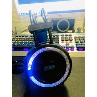 [Mã ELFLASH5 giảm 20K đơn 50K] Tai nghe chụp tai chơi game H7 jack 3.5 có mic có đèn led 7 màu chuyên dụng cho game thủ