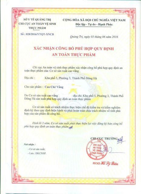[BAO CHẤT LƯỢNG] 5 Kg Cao Chè Vằng sẻ Quảng Trị loại đặc biệt dày dặn